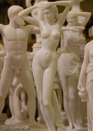 Kuva: kreeta, kreetalaisia tanssijoita, patsas, asetelma Cretan dancers