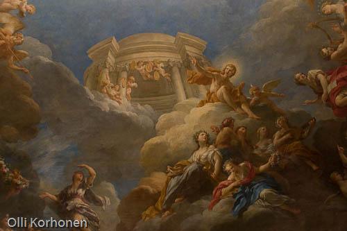 Versailles, ceiling painting