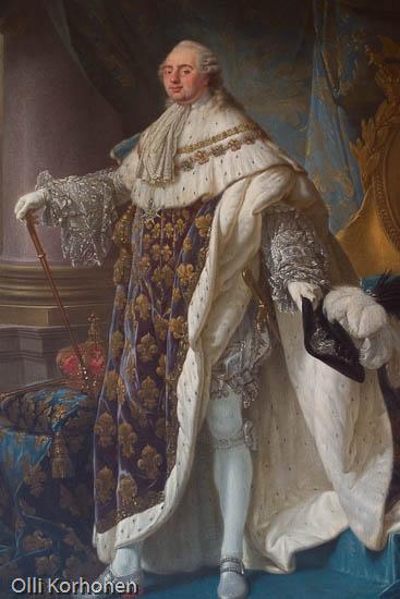 portrait, Louis XV, Versailles.