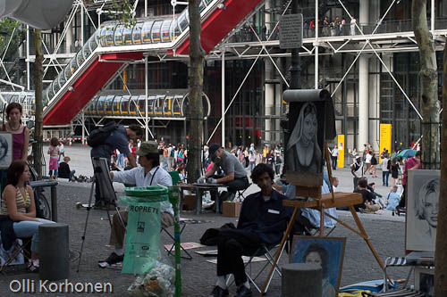 Photo, Centre Pompidou, artistes.