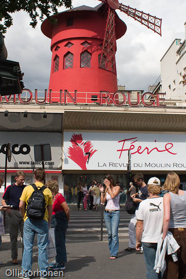 Kuva: Punainen Mylly, Moulin Rouge.