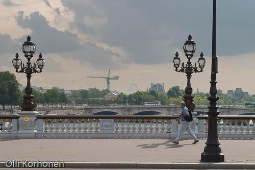 Pariisi, Seinen Pont des Invalides -silta.