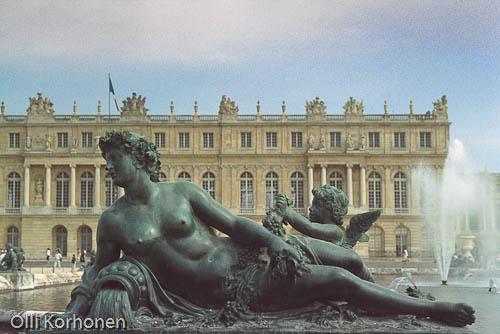 Versailles'n palatsi.