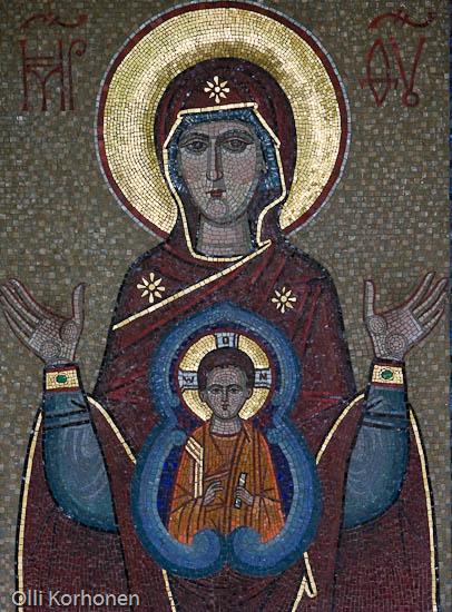 Kuva: Neitsyt Marian ikoni, Valamon luostari.