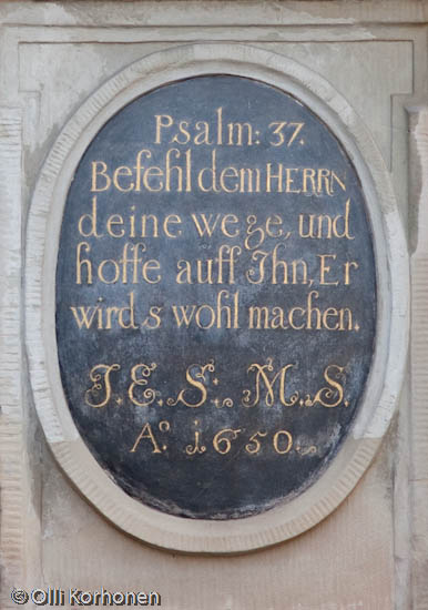 Psalmi 37: Befiehl dem Herrn deine Wege und hoffe auf ihn, er wird's wohl machen