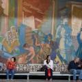 Seinämaalaus, kaupungintalo, Oslo, Norja
