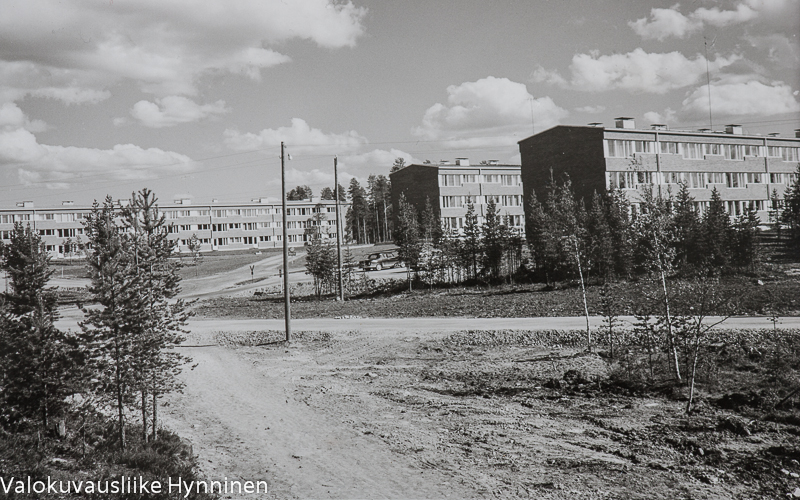 Olli Korhonen | 60-luvun Kajaani-aiheiset mustavalkeat postikortit YLE Kainuussa