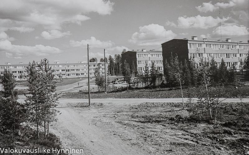 hoikankangas, kajaani, asuintaloja,1960-luku