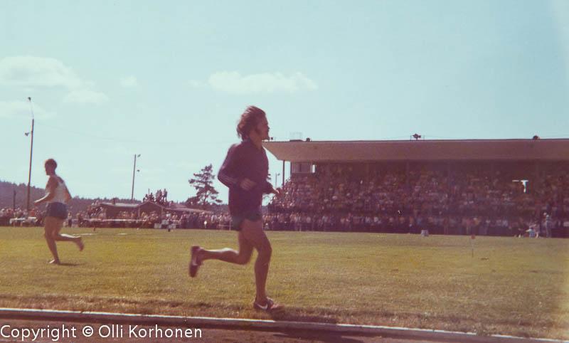 Steve Prefontaine, Kajaani, 1973.