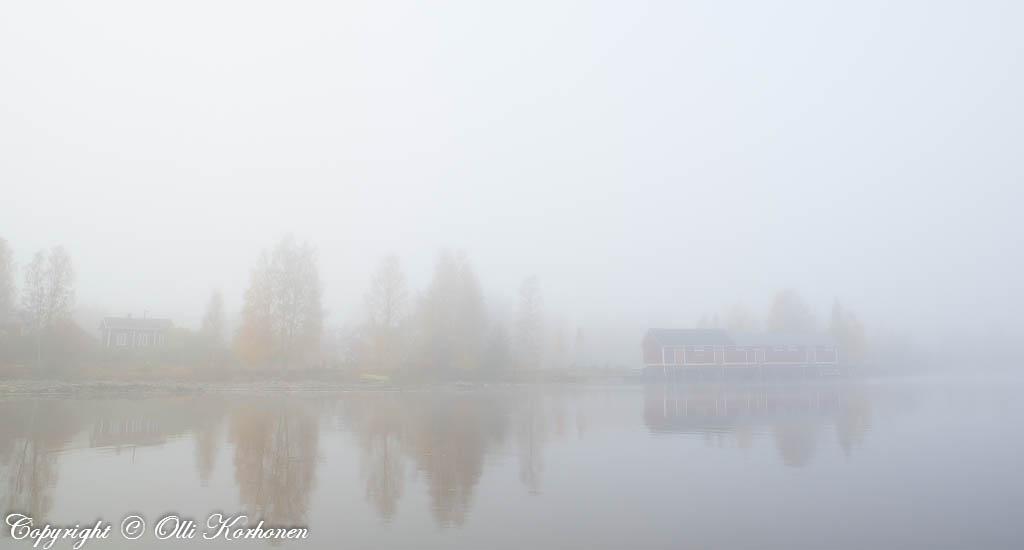 iivesi, järvi, sumu, ruska, rautatieasema, Suonenjoki