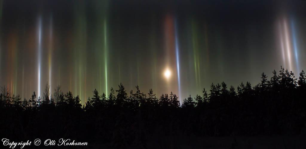 halo,haloes,Suonenjoki,night