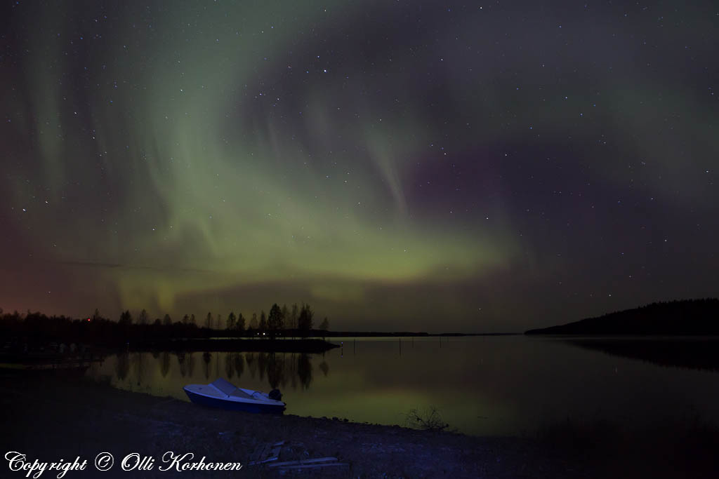 Revontulet, Iisvesi Suonenjoki