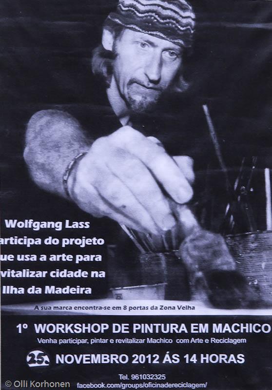Wolfgang Lass\'in taidepaja, Funchal.