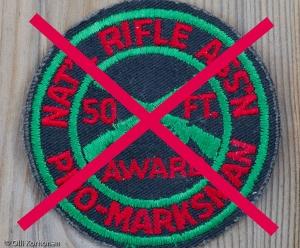 Anti-NRA Badge.
