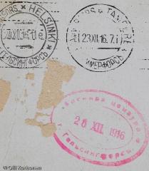 Postileimoja vuodelta 1916.
