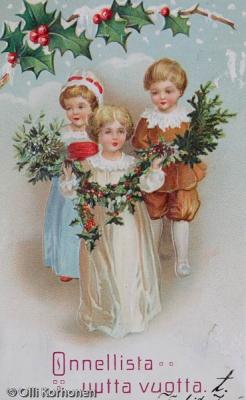 Vanha Uudenvuodenkortti v. 1912.