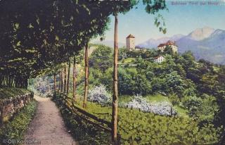 Vanha postikortti,  Merano, Italia v. 1922.