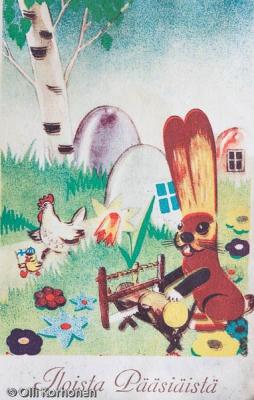 vanha-sota-aikainen-kortti-1943-6127
