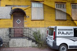 Pärnu, vanha puutalo.