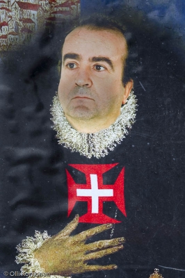 D. Renato Barros, Pontinhan ruhtinas, juliste.