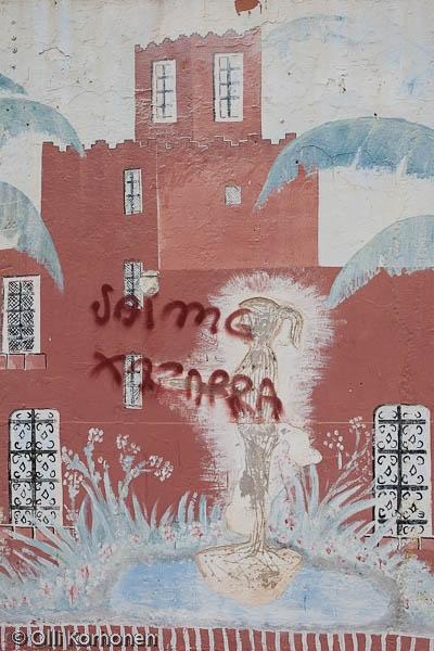 Graffiti, Benalmadena, Espanja 2011