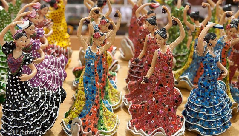 Flamencon miniatyyritanssijoita, Benalmaden, Espanja 2011
