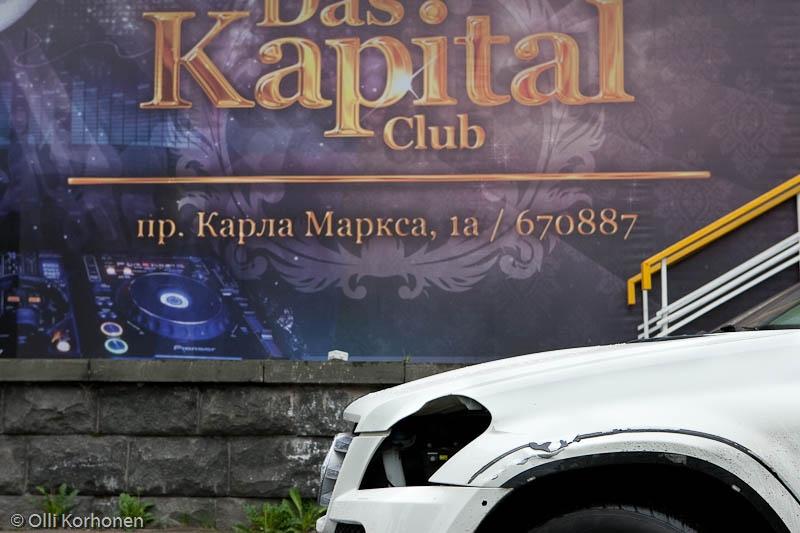 romu Mercedes Benz, Kapital, ravintola, Petroskoi 2011