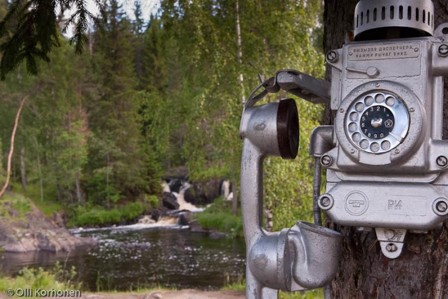 Puhelin puussa, Ahinkoski 2011