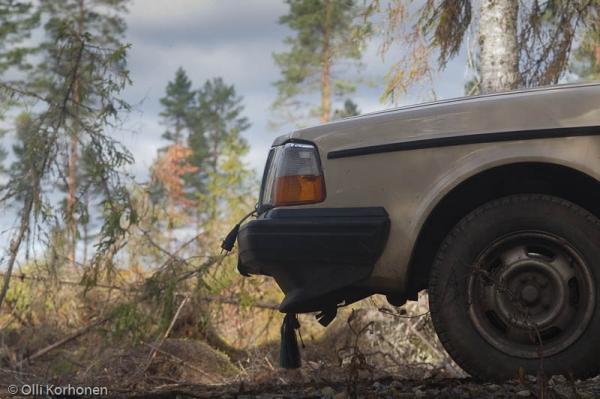 Uskollinen kuvakoni eli Volvo 240.