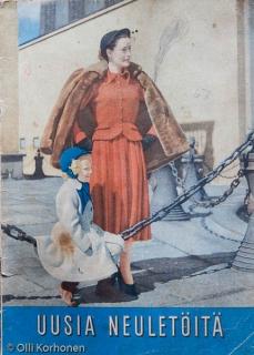 Uusia neuletöitä, vuodelta 1949.