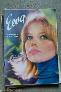 Eeva -lehti, maaliskuu 1964, kansikuva.
