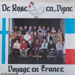 Ranskalaisen koulun äänilevy vuodelta 1982