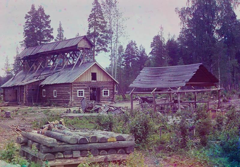 Kalansavustamo jossain Murmanskin radan varrella.