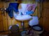 Särkyneiden toiveiden talon WC.