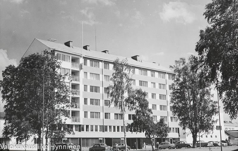 Kajaani, Kainuun Sanomien talo, 1960-luku.