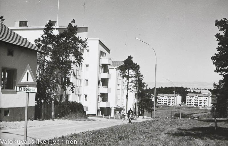 Kajaani, Kainuunpuisto ja -linna, 1960-luku.