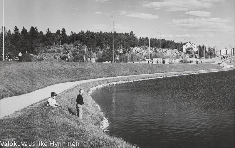 Kajaani, Kaupunginlampi, 1960-luku.