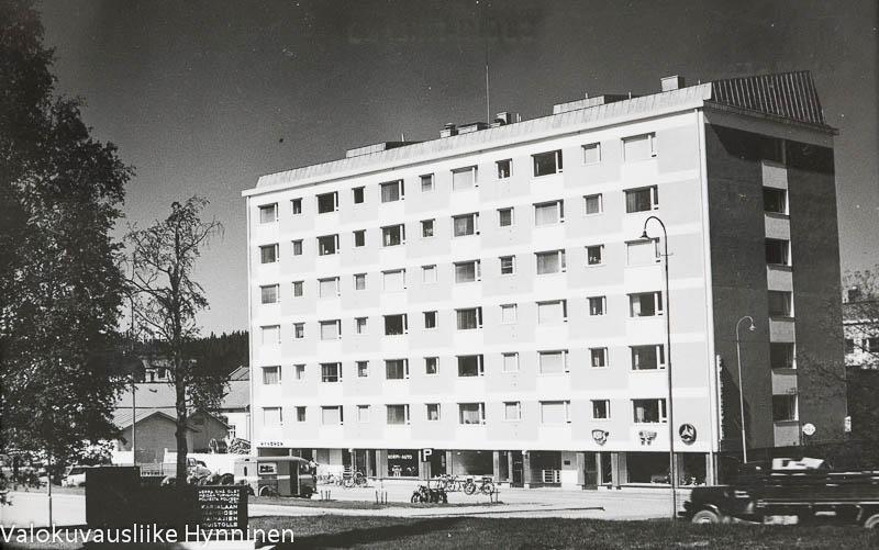 Kajaani, Kontionkulma, 1960-luku.