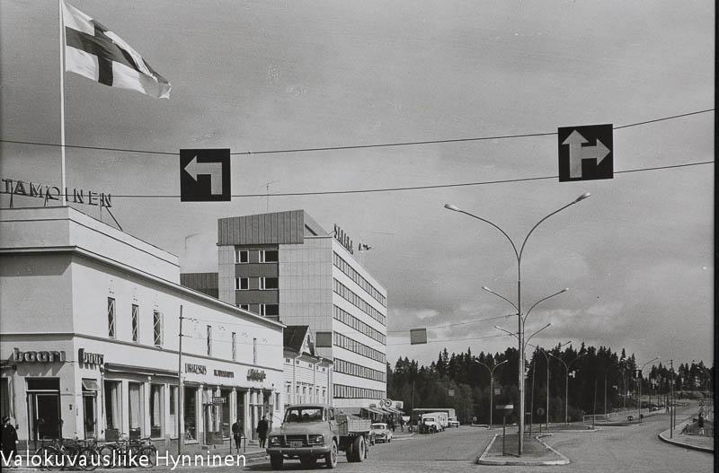 Kajaani, Lönnrotinkatu, 1960-luku.