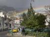 Sateenkaari, vanha kaupunki, Funchal, Madeira.