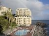 Merenrantahotelli, uima-altaat ja sateenkaari, Funchal, Madeira