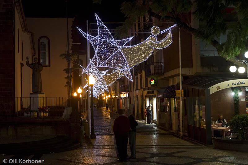 Jouluvalot, Funchal, Madeira.