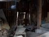 Nalle ja aution talon saunarakennuksen varasto.