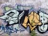 Pärnu, suuri graffiti.