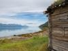 Sinisen vuonon rannalla Pohjois-Norjassa.