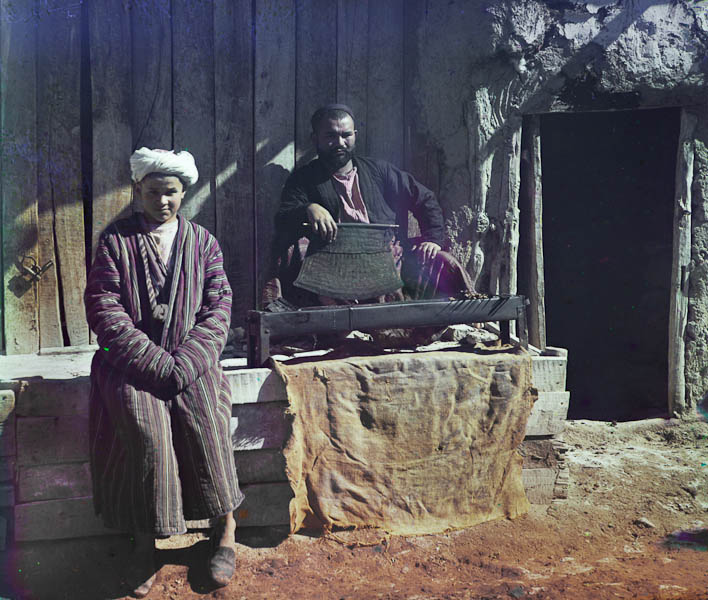 Kebab-ravintola, Samarkand.