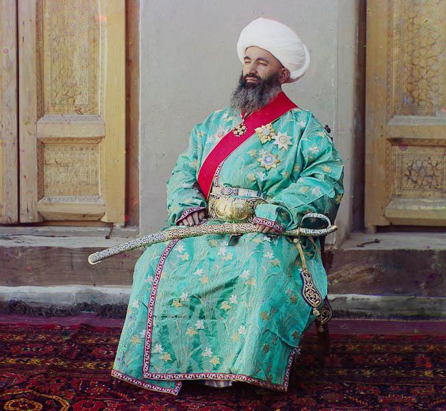 Kush Beggi, sisäministeri, Bokhara, Uzbekistan