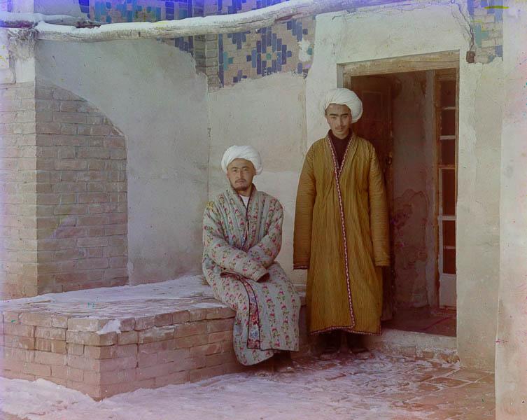 Opiskelijoita, Samarkand, Uzbekistan