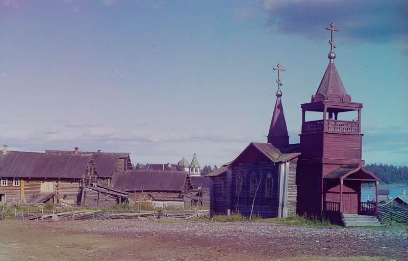 Käppäselän vanha kirkko.