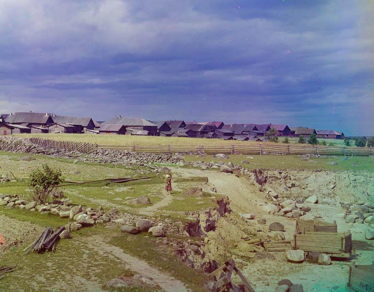 Perguban kylä.